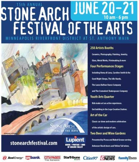 stone arch festval flyer